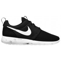 Nike Roshe One Hommes chaussures de course noir/blanc YSM096