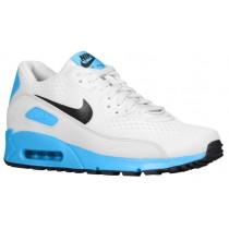 Nike Air Max 90 Premium Comfort EM Hommes sneakers blanc/bleu clair DMF833