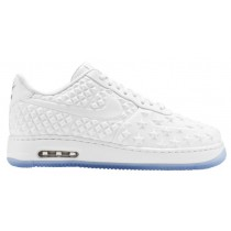 Nike Air Force 1 Low Hommes sneakers blanc/bleu clair KTJ927
