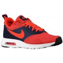Nike Air Max Tavas Essential Hommes chaussures Orange/bleu marin YTP662