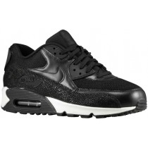 Nike Air Max 90 Patent Leather Hommes chaussures noir/blanc IYQ750