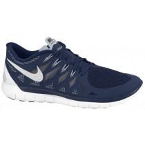 Nike Free 5.0 Hommes baskets bleu marin/blanc DYX772