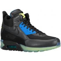 Nike Air Max 90 Sneakerboot Hommes sneakers noir/gris KVP598