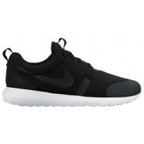 Nike Roshe One Hommes chaussures de course noir/blanc URK751