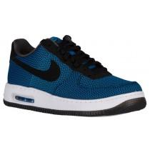 Nike Air Force 1 Low Elite Textile Hommes chaussures de sport bleu clair/noir XPC973