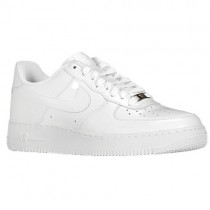 Nike Air Force 1 Low Patent Leather Hommes sneakers blanc/blanc DCS624