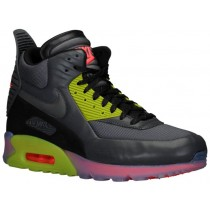 Nike Air Max 90 Sneakerboot Ice Hommes chaussures de course gris/vert clair XWR189