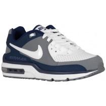 Nike Air Max Wright Hommes chaussures de course blanc/bleu marin KBU330