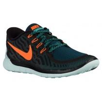 Nike Free 5.0 2015 Hommes sneakers noir/Orange FON573