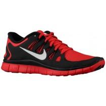 Nike Free 5.0+ Hommes chaussures rouge/noir JMN595