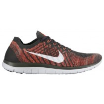 Nike Free 4.0 Flyknit 2015 Camo Hommes chaussures gris/Orange MFH103