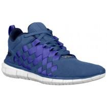 Nike Free OG '14 Woven Hommes chaussures de course bleu/bleu marin RWO172