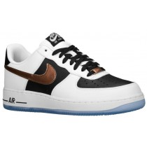 Nike Air Force 1 Low Hommes sneakers blanc/marron HMM423