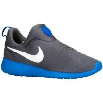 Nike Roshe One Slip On Hommes chaussures de course gris/bleu clair UAS342