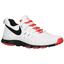 Nike Free Trainer 5.0 Weave Hommes sneakers blanc/rouge RNR199