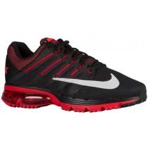 Nike Air Max Excellerate 4 Hommes baskets noir/rouge QAT486