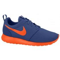 Nike Roshe One Hommes chaussures de sport bleu marin/Orange FJL800