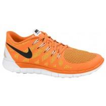 Nike Free 5.0 Hommes chaussures Orange/noir WLI248