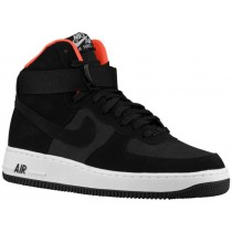Nike Air Force 1 High Hommes baskets noir/Orange NKF366