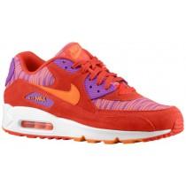 Nike Air Max 90 Hommes sneakers rouge/Orange EWI298
