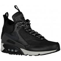 Nike Air Max 90 Sneakerboot Hommes chaussures de sport Tout noir/noir OAM305