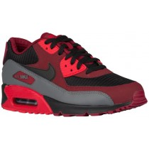 Nike Air Max 90 Essential Hommes chaussures rouge/noir LYK933