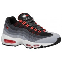 Nike Air Max 95 Hommes chaussures de sport gris/rouge OUP836