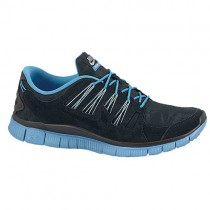 Nike Free 5.0+ EXT Hommes sneakers noir/bleu clair YRM251