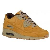 Nike Air Max 90 Hommes chaussures de sport or/marron QVD759