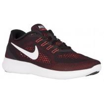 Nike Free RN Hommes chaussures de course noir/Orange EUD545