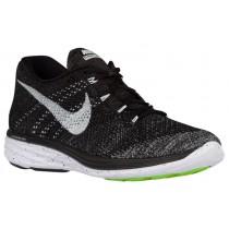 Nike Flyknit Lunar 3 Hommes chaussures noir/gris YOA541