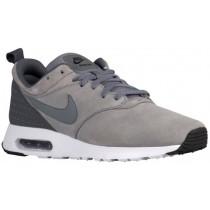 Nike Air Max Tavas Leather Hommes chaussures de course gris/blanc LZE779