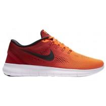 Nike Free RN Hommes chaussures Orange/rouge WRZ848