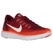 Nike Free RN Distance Hommes chaussures de course rouge/Orange WXF931