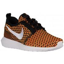 Nike Roshe One Flyknit NM Hommes baskets noir/Orange KTI408