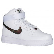 Nike Air Force 1 High LV8 Hommes baskets blanc/or XMH883