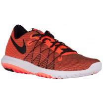 Nike Flex Fury 2 Hommes chaussures de course Orange/noir CMU785
