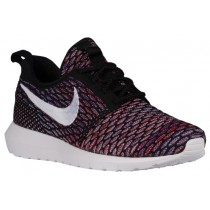 Nike Roshe One Flyknit NM Hommes sneakers noir/rouge UUD769