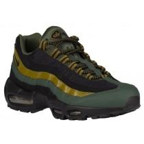 Nike Air Max 95 Essential Hommes chaussures olive verte/noir EUM695