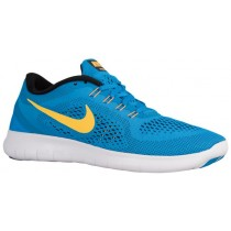 Nike Free RN Hommes chaussures de course bleu clair/noir IXY322
