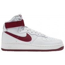 Nike Air Force 1 High Retro Hommes chaussures de sport blanc/bordeaux ITB526