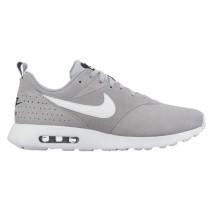 Nike Air Max Tavas Suede Hommes chaussures de sport gris/blanc YWT123