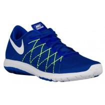 Nike Flex Fury 2 Hommes chaussures de sport bleu/vert clair JEM579