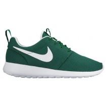 Nike Roshe One Hommes chaussures de course vert/blanc UIY927