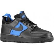 Nike Air Force 1 Comfort Huarache Hommes baskets noir/bleu clair MMM381