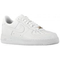 Nike Air Force 1 07 LE Low Leather Femmes baskets Tout blanc/blanc IKU213