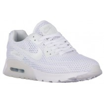 Nike Air Max 90 Ultra Femmes baskets blanc/gris BNP307