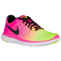 Nike Flex 2016 RN Femmes chaussures rose/vert clair EJR424