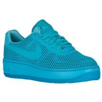 Nike Air Force 1 Low Upstep BR Femmes chaussures de sport bleu clair/bleu clair HYI902