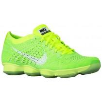 Nike Flyknit Zoom Agility Femmes sneakers vert clair/vert clair MOW443